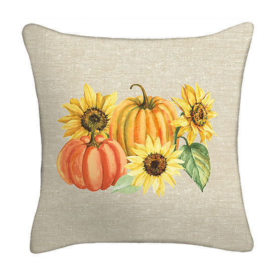 Harvest Square Throw Pillow