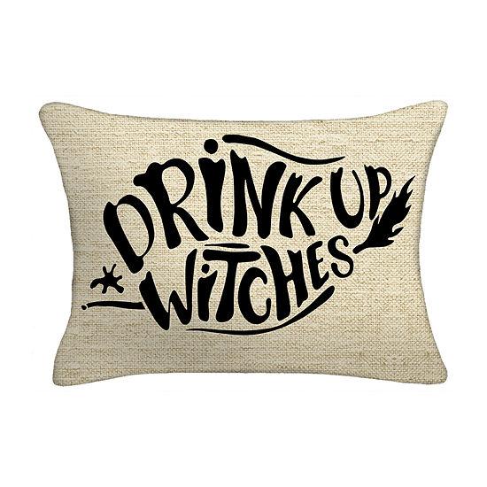 Drink Up Witches Lumbar Pillow