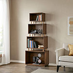 Madison Park Norada 4-Shelf Bookcase