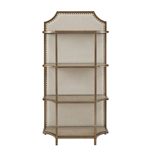 Madison Park Karen 4-Shelf Bookcase