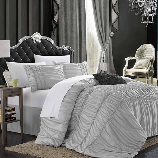 Chic Home Romantica 5-pc. Midweight Comforter Set