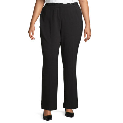 Worthington Womens New Perfect Fit Trouser - Plus
