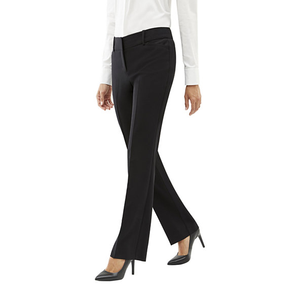 Worthington Perfect Trouser Womens Modern Fit Bootcut Trouser