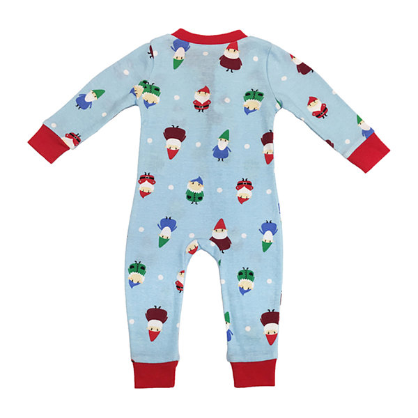 Secret Santa Gnomes Family 1 Piece Pajama - Unisex Baby