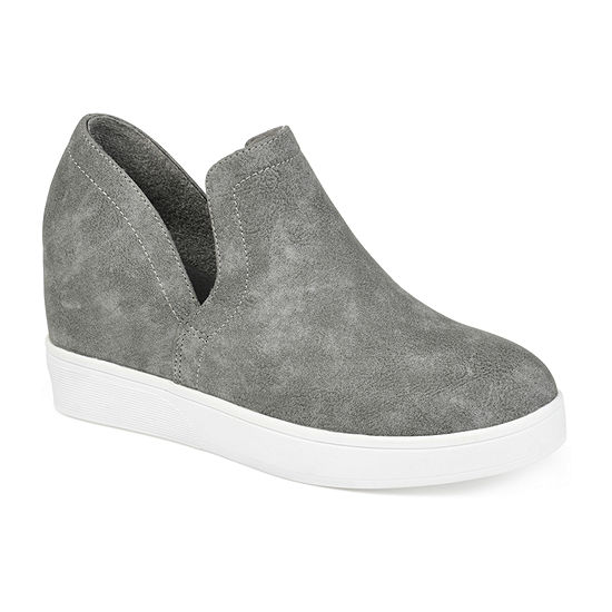 Journee Collections Womens Cardi Sneaker Wedge