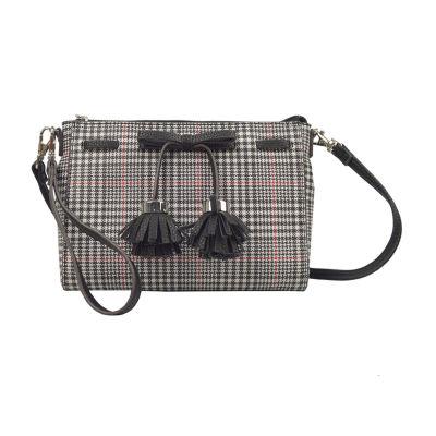 Liz Claiborne Elly Bow Convertible Crossbody Bag