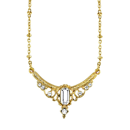 Downton Abbey By 1928 Jewelry 16 Inch Link Collar Necklace