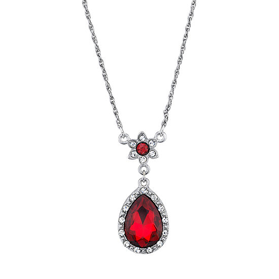 Downton Abbey By 1928 Jewelry 16 Inch Link Pendant Necklace