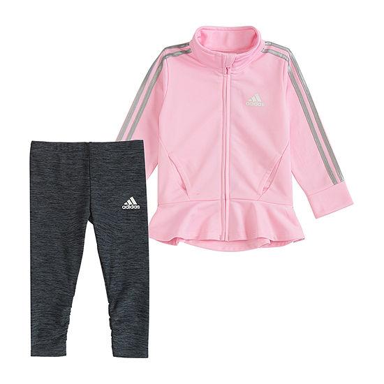 adidas Girls 2-pc. Legging Set-Baby
