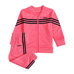 adidas 2-pc. Logo Pant Set Baby Girls