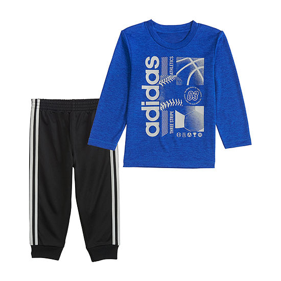 adidas Boys 2-pc. Pant Set Baby