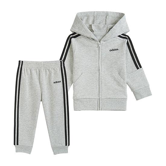 adidas Unisex 2-pc. Track Suit Baby