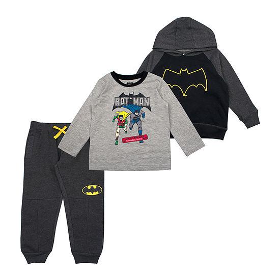 Boys Batman 3-pc. Pant Set Toddler