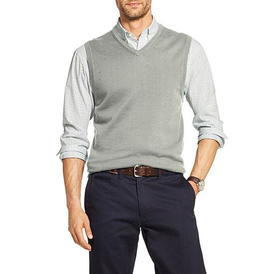 IZOD Premium Essentials Mens V Neck Sweater Vest