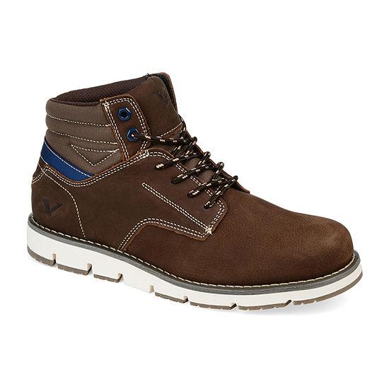 Territory Mens Ty Bridger Chukka Boots Block Heel