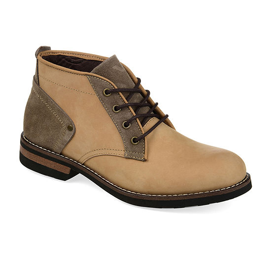 Territory Mens Alpha Block Heel Chukka Boots