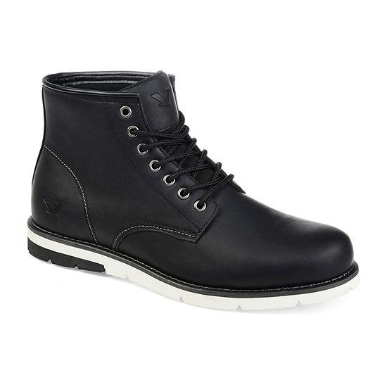 Territory Mens Axel Block Heel Chukka Boots