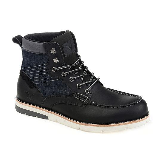Territory Mens Mack Chukka Boots Block Heel
