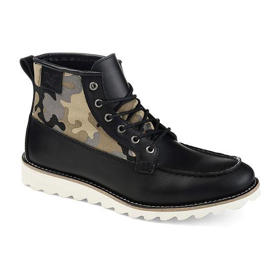 Territory Mens Boone Chukka Boots Block Heel