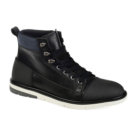 Territory Mens Ty Titan Block Heel Chukka Boots