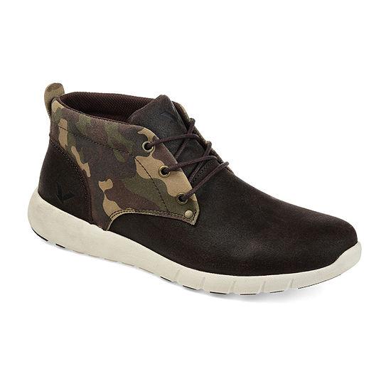 Territory Mens Trigger Chukka Boots Block Heel