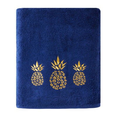 Saturday Knight Gilded Pineapple Bath Towel