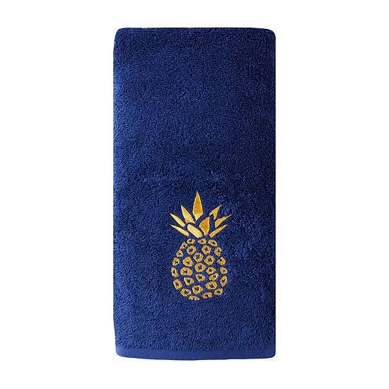 Saturday Knight Gilded Pineapple Bath Towel