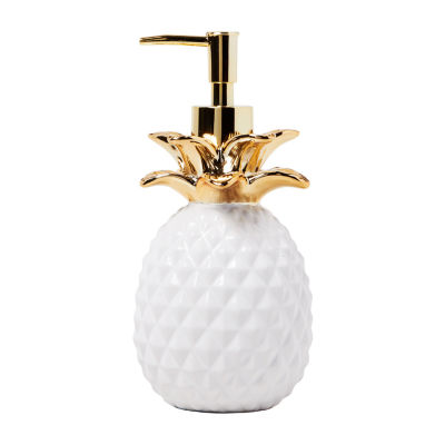 Saturday Knight Gilded Pineapple Soap/Lotion Dispenser