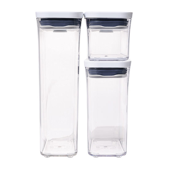 OXO Good Grips Pop Slim Rectangular 3-pc. Food Container