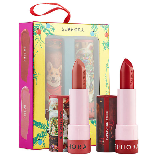 SEPHORA COLLECTION Holiday Kisses #Lipstories Lipstick Ornament ($18.00 value)