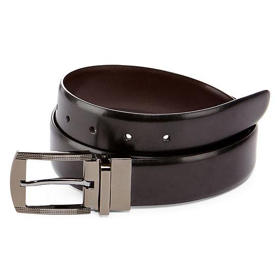 JF J. Ferrar® Flashy Sides Reversible Belt