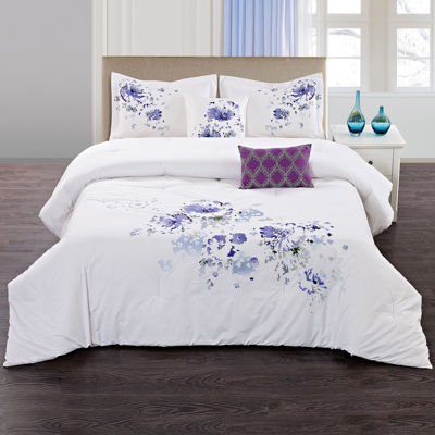 Floral Spray 5-pc. Comforter Set