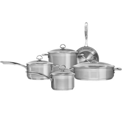 Chantal® Induction 21 Steel™ 9-pc. Cookware Set