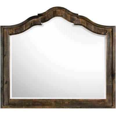 Nashville Rustic Pine Mirror