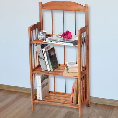 Lavish Home™ 3-Shelf Bookcase