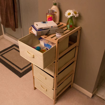 Lavish Home™ 4-Drawer Organization Unit