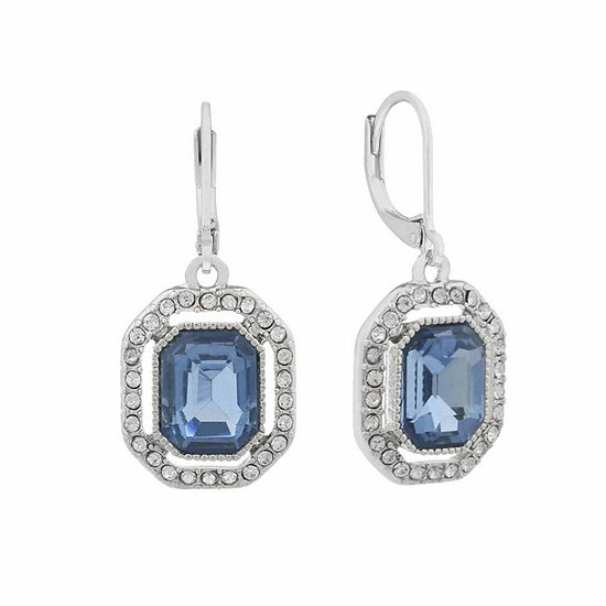 cfb7f4cd4d56c0 Monet Blue And Silvertone Drop Earring - JCPenney