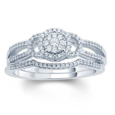 1/3 CT. T.W. White Diamond 10K Gold