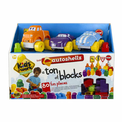 Amloid Kids 80 Piece Auto Shellz Deluxe Set