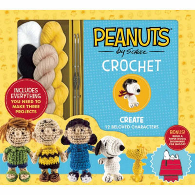 Kids Peanuts Crochet Kit
