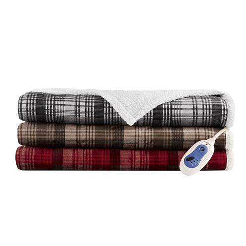 Woolrich Tasha Berber Electric Throw