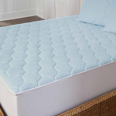 Arctic Sleep™ by Pure Rest™ Cooling Gel Memory Foam Mattress Pad