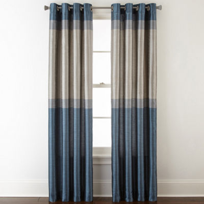 Studio™ Quintet Lined Grommet-Top Curtain Panel