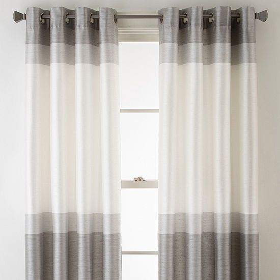 Studio Blackout Grommet-Top Single Curtain Panel