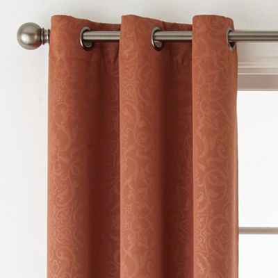 Home Expressions Norris 2-Pack Blackout Grommet-Top Curtain Panel