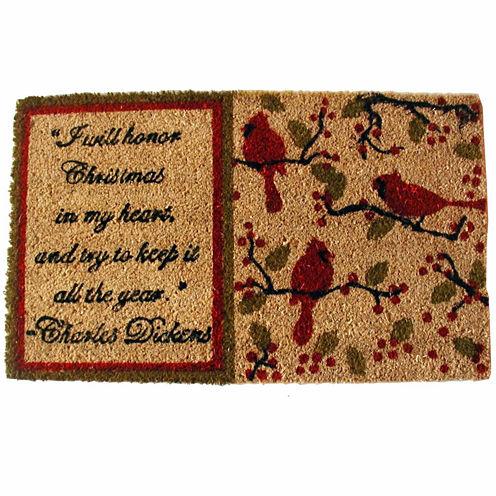 """Dickens Rectangular Doormat - 18""""X30"""""""