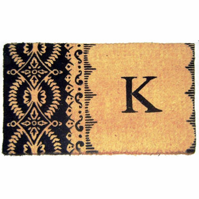 Imperial Heirloom Monogram Rectangular Doormat