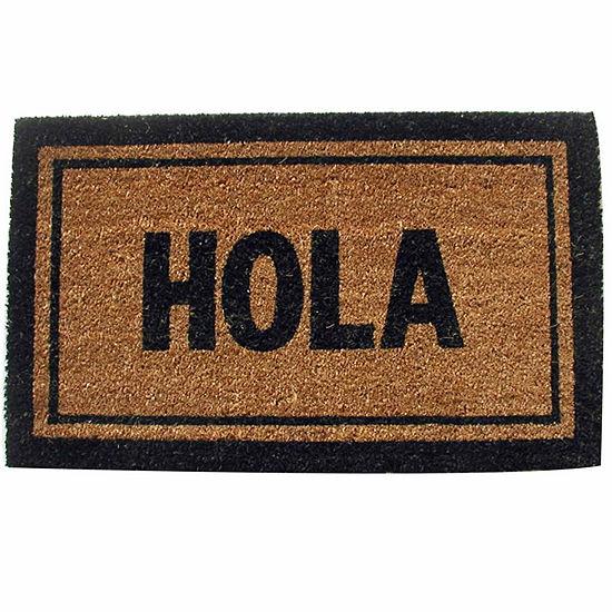 "Hola Rectangle Doormat - 18""X30"""