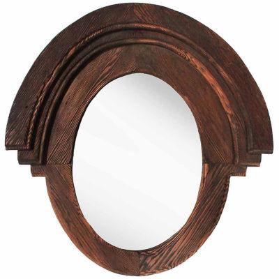 Natural Brown Driftwood Mirror