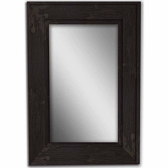 Black Bone Wood Mirror